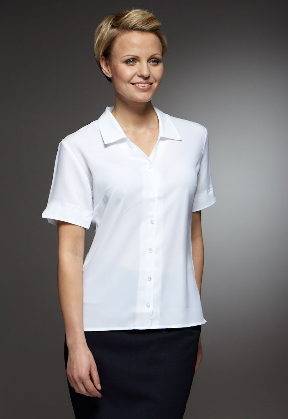Elegant Hotel Uniform Shirts And Dress Shirts For Men And Women