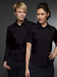 Womens Black Blouses For Work