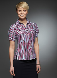 Value Work Uniforms: Print Blouses