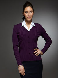 Value Work Uniforms: Cardigans